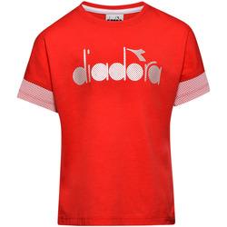 Vêtements Enfant T-shirts manches courtes Diadora 102175914 Rouge