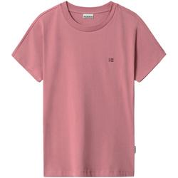 Vêtements Femme T-shirts manches courtes Napapijri NP0A4FAC Rose