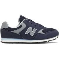 Chaussures Enfant Baskets basses New Balance NBYC393CBK Bleu
