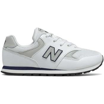 Chaussures Enfant Baskets basses New Balance NBYC393CWN Blanc