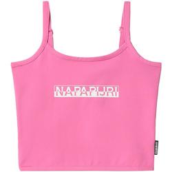 Vêtements Femme Débardeurs / T-shirts sans manche Napapijri NP0A4FHI Rose