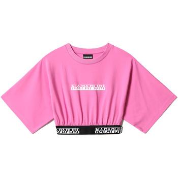 Vêtements Femme Tops / Blouses Napapijri NP0A4FHH Rose