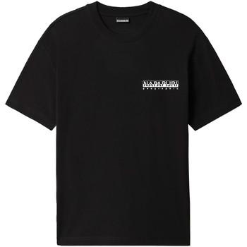 Vêtements Homme T-shirts manches courtes Napapijri NP0A4F4R Noir