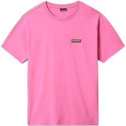Vêtements Homme T-shirts manches courtes Napapijri NP0A4FG8 Rose