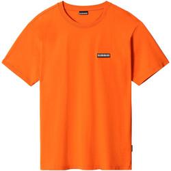 Vêtements T-shirts manches courtes Napapijri NP0A4FG8 Orange
