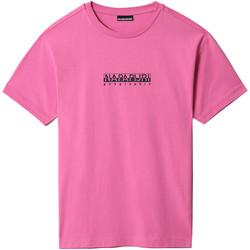 Vêtements T-shirts manches courtes Napapijri NP0A4FF5 Rose