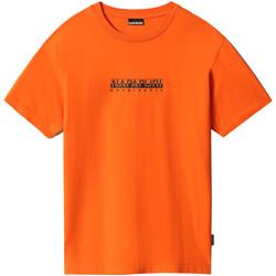 Vêtements Femme T-shirts manches courtes Napapijri NP0A4FF5 Orange