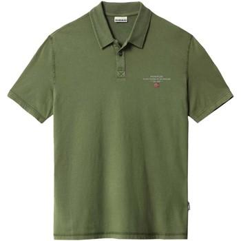 Vêtements Homme Polos manches courtes Napapijri NP0A4F9P Vert
