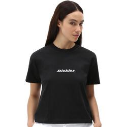 Vêtements Femme T-shirts manches courtes Dickies DK0A4XBABLK1 Noir