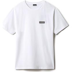 Vêtements T-shirts manches courtes Napapijri NP0A4FG8 Blanc