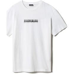 Vêtements T-shirts manches courtes Napapijri NP0A4FF5 Blanc