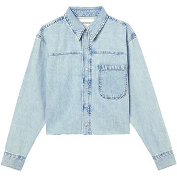 Vêtements Femme Vestes en jean Calvin Klein Jeans J20J215908 Bleu