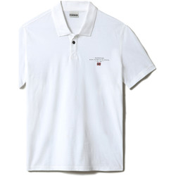 Vêtements Homme Polos manches courtes Napapijri NP0A4F9P Blanc