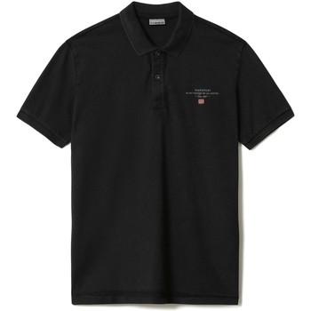 Vêtements Homme Polos manches courtes Napapijri NP0A4FA2 Noir