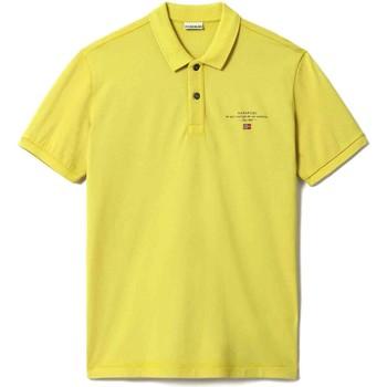 Vêtements Homme Polos manches courtes Napapijri NP0A4FA2 Jaune