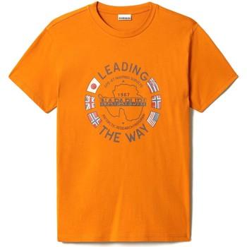 Vêtements Homme T-shirts manches courtes Napapijri NP0A4F6P Orange