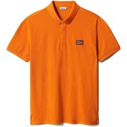 Vêtements Homme Polos manches courtes Napapijri NP0A4F6F Orange