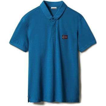 Vêtements Homme Polos manches courtes Napapijri NP0A4F6F Bleu