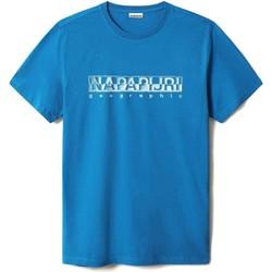 Vêtements Homme T-shirts manches courtes Napapijri NP0A4F9O Bleu