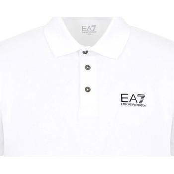 Vêtements Homme Polos manches courtes Ea7 Emporio Armani 8NPF04 PJM5Z Blanc