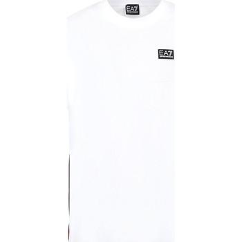 Vêtements Homme T-shirts manches courtes Ea7 Emporio Armani 3KPT13 PJ02Z Blanc