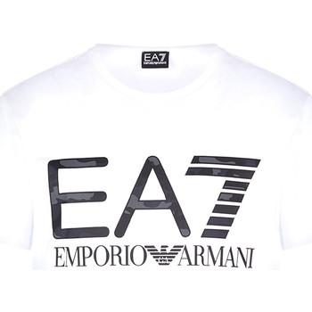 Vêtements Homme T-shirts manches courtes Ea7 Emporio Armani 3KPT27 PJ7CZ Blanc