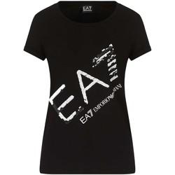 Vêtements Femme T-shirts manches courtes Ea7 Emporio Armani 3KTT28 TJ12Z Noir