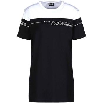 Vêtements Femme T-shirts manches courtes Ea7 Emporio Armani 3KTT59 TJBEZ Noir