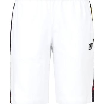 Vêtements Homme Maillots / Shorts de bain Ea7 Emporio Armani 3KPS81 PJ05Z Blanc