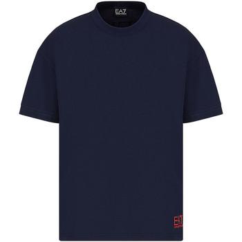 Vêtements Homme T-shirts manches courtes Ea7 Emporio Armani 3KPT58 PJ02Z Bleu
