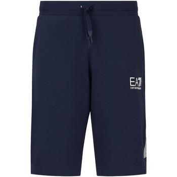 Vêtements Homme Shorts / Bermudas Ea7 Emporio Armani 3KPS67 PJ05Z Bleu