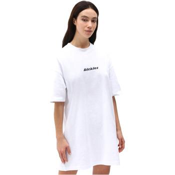Vêtements Femme Robes courtes Dickies DK0A4XB8WHX1 Blanc