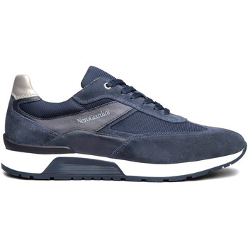 Chaussures Homme Baskets basses NeroGiardini E101950U Bleu