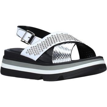 Chaussures Femme Sandales et Nu-pieds Keys K-4952 Blanc