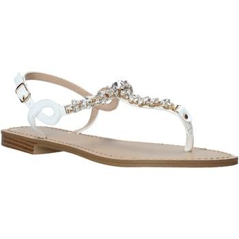 Chaussures Femme Sandales et Nu-pieds Keys K-5100 Blanc