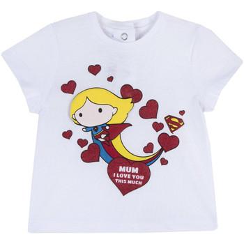 Vêtements Fille T-shirts manches courtes Chicco 09067360000000 Blanc