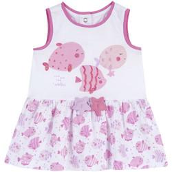 Vêtements Fille Robes courtes Chicco 09003813000000 Blanc