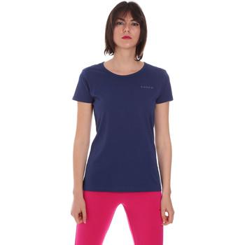 Vêtements Femme T-shirts manches courtes Diadora 102175886 Bleu