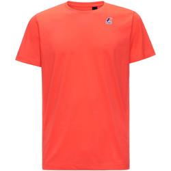 Vêtements Homme T-shirts manches courtes K-Way K007JE0 Rouge
