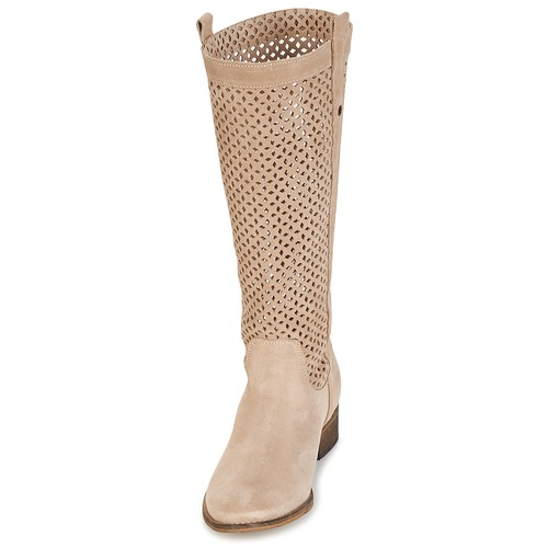Betty Ville Bottes Beige Divoui Femme London nwmN08