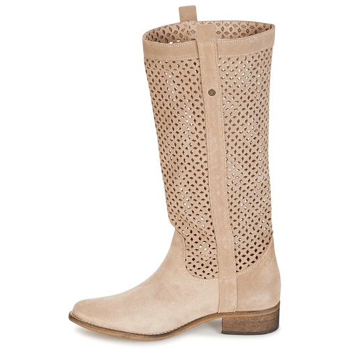 Beige Femme Divoui Betty London Ville Bottes dxorhQtsCB