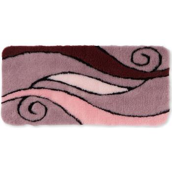 Maison & Déco Tapis de bain Et acceptez notre Polique de Protection des Données Les tapis de bain à motif en relief roseprune
