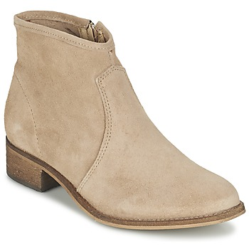 Chaussures Femme Boots Betty London NIDIA Beige