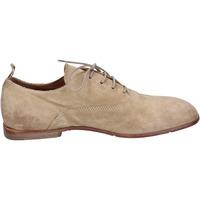 Chaussures Femme Derbies Moma BH338 Beige