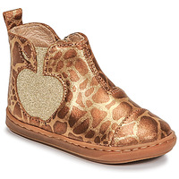 Chaussures Fille Boots Shoo Pom BOUBA APPLE Marron