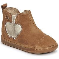 Chaussures Fille Boots Shoo Pom BOUBA NEW APPLE Marron