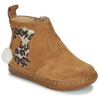 Chaussures Fille Boots Shoo Pom BOUBA PIMPIN Marron