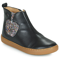 Chaussures Fille Boots Shoo Pom PLAY APPLE Noir