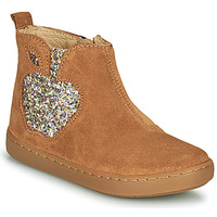 Chaussures Fille Boots Shoo Pom PLAY APPLE Marron