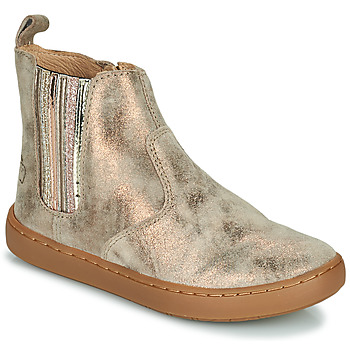 Chaussures Fille Boots Shoo Pom PLAY NEW SHINE Gris